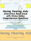 Having Hearing Aids Reading Comprehension with Sticky Notes