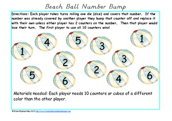 "Having a Ball With ""Numbers"" - Kindergarten and Pre-K"