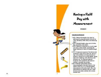 Having a Field Day with the Second Grade Measurement Standards