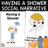Social Story Having a Shower