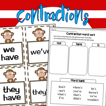 Having fun with Contractions! 52