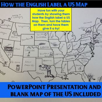 Having fun with labeling a US Map