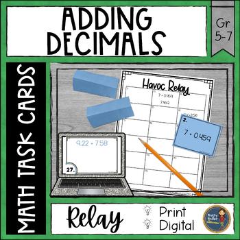 Adding Decimals Havoc Relay