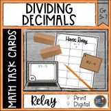 Dividing Decimals Havoc Relay