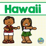 Hawaii File Folder Game