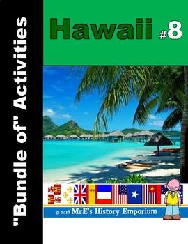 """Hawaii #8 """"Bundle of Ten/More"""" Activities"""