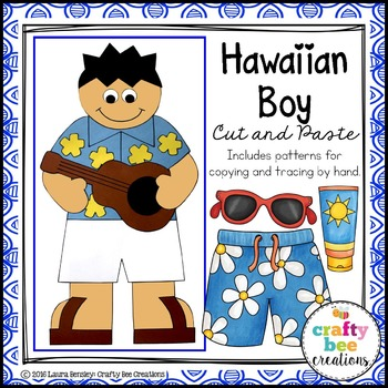 Hawaii Boy Cut and Paste
