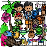 Hawaii Clipart (Tropical Clipart)