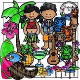 Hawaii Clipart (Tropical Clipart)