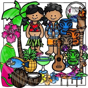 Hawaii Clipart Bundle