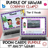Bundle Hawaii Context Clues:  Grades 4-5 Tier 2 Vocab!