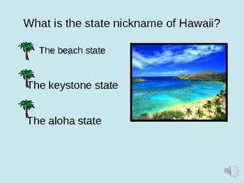 Hawaii Interactive Power Point with Voice Over