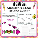 Hawaii Webquest Informational Reading Research Activity Mini Book