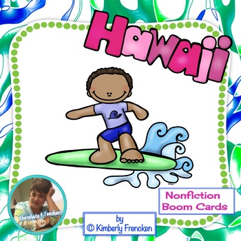 Hawaii Nonfiction Boom Cards