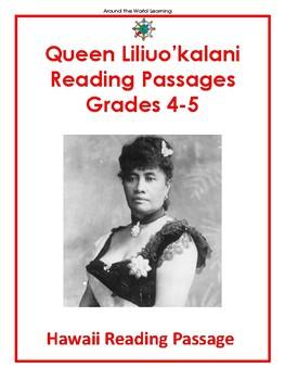 Hawaii Reading Passage: Queen Liliou'kalani