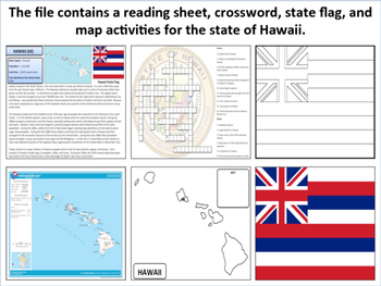 Hawaii - State Activity Set