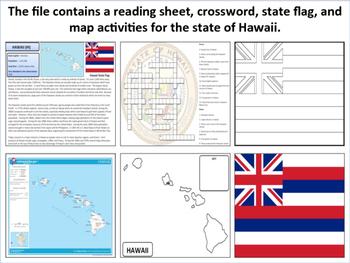 Hawaii - State Activity Set