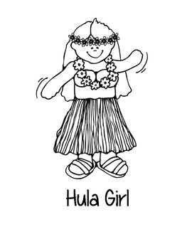 Hawaii State Coloring Pages