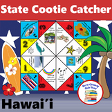 Hawaii State Facts and Symbols Hawaiian Words Cootie Catcher Fortune Teller