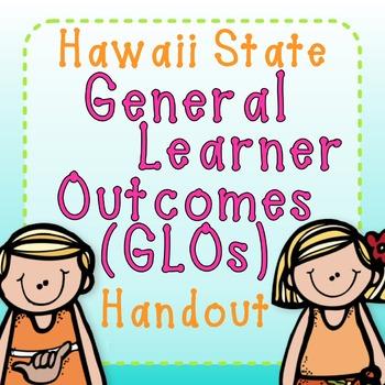 Hawaii State GLOs Handout