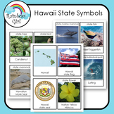 Hawaii State Symbols Cards
