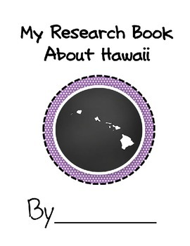 Hawaii Student Research Book