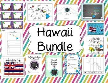 Hawaii Themed Bundle- 12 resources