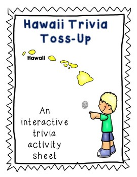 Hawaii Trivia Toss-Up Challenge  -  State geography