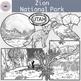 Zion National Park Clipart Set