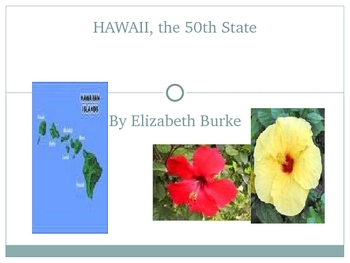 Hawaii,Our 50th State