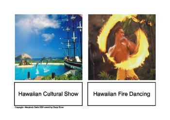 Hawaiian 3-Part Cards