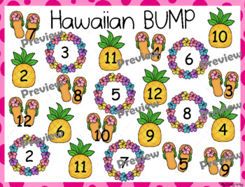 Hawaiian BUMP ~ Addition Facts 2-12