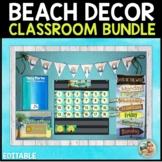 Classroom Decor Bundles Editable | Tropical