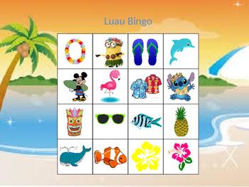 Hawaiian Bingo