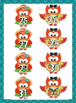 Hawaiian Calendar Numbers