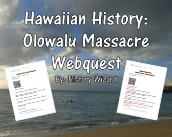 Hawaiian History: Olowalu Massacre Webquest