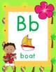 Hawaiian Luau - Alphabet Posters