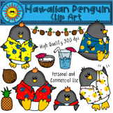 Hawaiian Penguin Clip Art