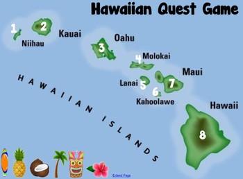 Hawaiian Quest Game