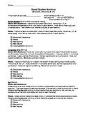 Hawaiian Studies-Ahupuaa, Fishpond, and Loi Brochure rubric