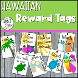 Hawaiian Themed Reward Tags
