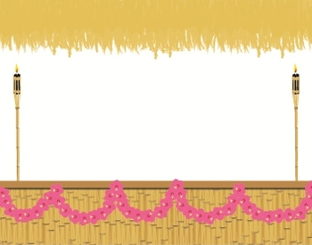 Hawaiian Tiki Theme Backgrounds