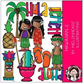 Hawaiian clip art - Set 2 - Melonheadz Clipart