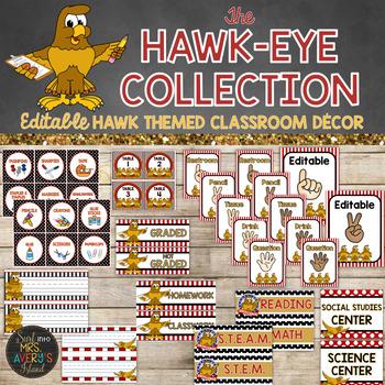 Hawk Classroom Decor Bundle