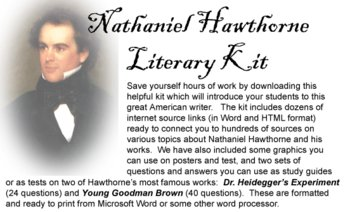 Hawthorn Teacher Kit Lesson Plan