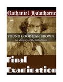 "Hawthorne's ""Young Goodman Brown"" Final Exam (w/ Answer Key)"