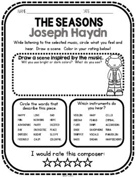 Joseph Haydn, Classical Composer, March, Spring, Handwriting, Music, Harpsichord