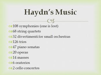 Haydn - Composer Mini Lesson
