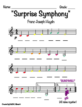 haydn surprise symphony second movement