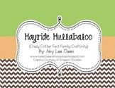 Hayride Hullabaloo (Fact Family Craftivity)